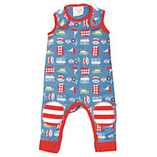 Buy Frugi Road Trip Dungarees, Blue Online at johnlewis.com