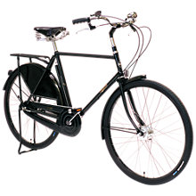 Buy Pashley Roadster Classic Plus Bike, Buckingham Black Online at johnlewis.com
