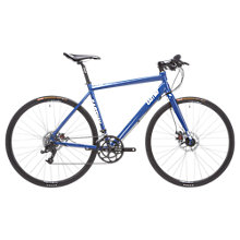 Buy Eastway FB 4.0 Alloy Flat Bar Road Bike, Blue Online at johnlewis.com