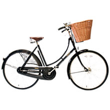 Buy Pashley Princess Classic Plus Bike, Black Online at johnlewis.com