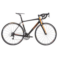 Buy Eastway R2.0 Carbon Road Bike, Black/Orange Online at johnlewis.com