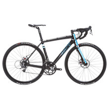 Buy Eastway RD 1.0 Carbon Road Bike, Black/Aqua Online at johnlewis.com