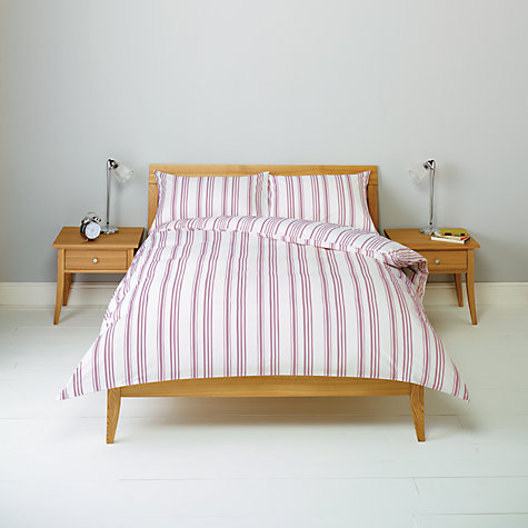 Buy John Lewis New Stripe Duvet Cover and Pillowcase Set Online at johnlewis.com