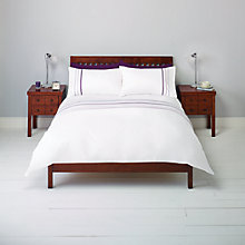 Buy John Lewis Braids and Crosses Stripe Duvet Cover and Pillowcase Set Online at johnlewis.com