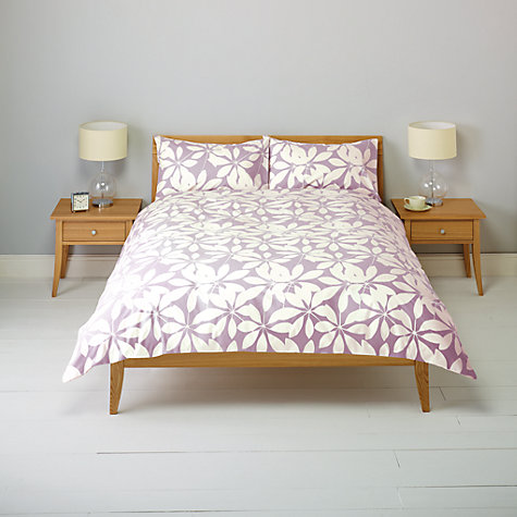 Buy John Lewis New Floral Duvet Cover and Pillowcase Set Online at johnlewis.com