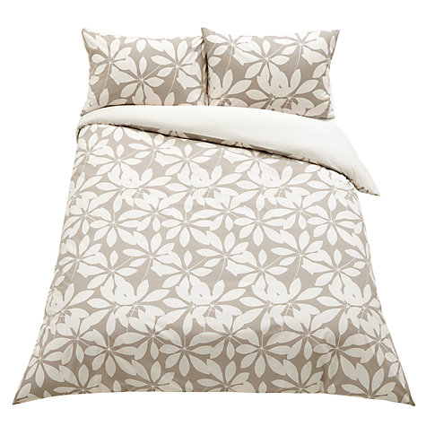 Buy John Lewis Floral Duvet Cover and Pillowcase Set Online at johnlewis.com
