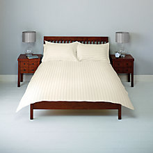 Buy John Lewis 400 Thread Count Satin Stripe Duvet Cover and Pillowcase Set Online at johnlewis.com