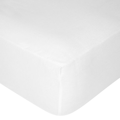 Buy John Lewis Flannelette Fitted Sheets Online at johnlewis.com