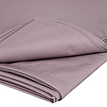 Buy John Lewis 200 Thread Count Egyptian Cotton Fitted Sheet, Amethyst Online at johnlewis.com
