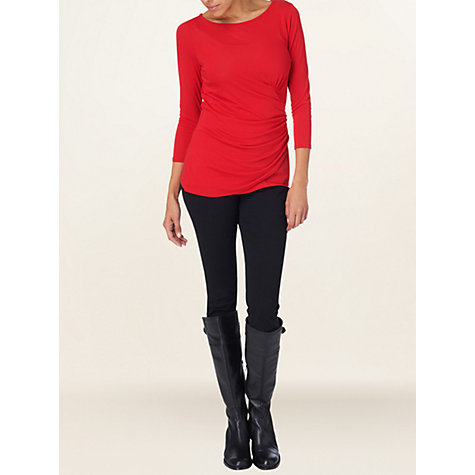 Buy Phase Eight Marissa Top, Red Online at johnlewis.com