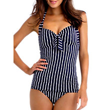 Buy Seafolly Coastline Tankini Top, Navy Online at johnlewis.com