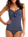 Seafolly Coastline Tankini Top, Navy