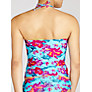 Buy John Lewis Orchid Tankini Top, Blue Floral Online at johnlewis.com