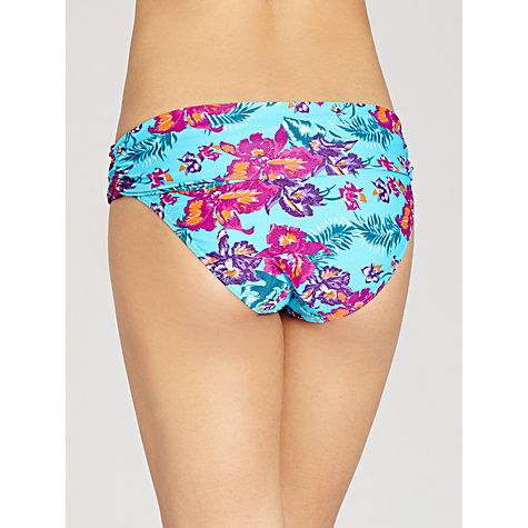 Buy John Lewis Orchid Fold Over Bikini Briefs, Blue Floral Online at johnlewis.com
