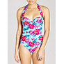 Buy John Lewis Orchid Underwired Swimsuit, Blue Floral Online at johnlewis.com