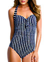Seafolly Coastline Maillot Swimsuit, Navy