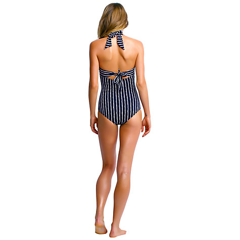 Buy Seafolly Coastline Maillot, Navy Online at johnlewis.com