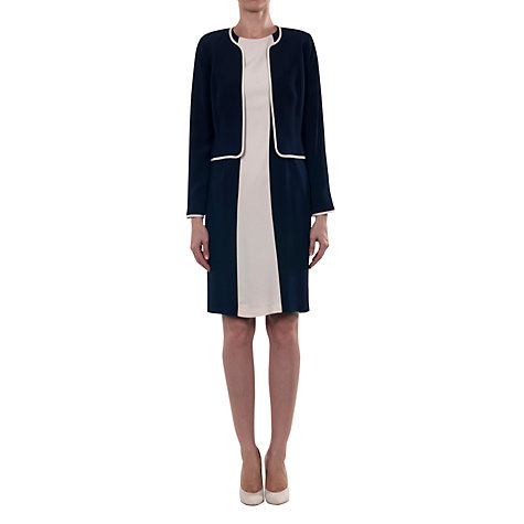 Buy allegra by Allegra Hicks Savannah Jacket, Navy Online at johnlewis.com