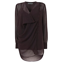 Buy Mint Velvet Asymmetric Blouse Online at johnlewis.com