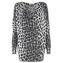 Buy Oasis Animal Jumper, Grey Online at johnlewis.com