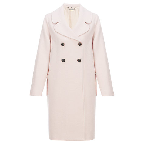 Buy Jigsaw Wool Four Button Coat Online at johnlewis.com