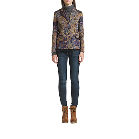Buy Jigsaw Hampton Tapestry Jacket, Multi Online at johnlewis.com