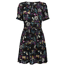 Buy Warehouse Tapestry Floral Dress, Multi Online at johnlewis.com