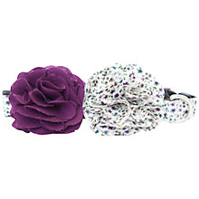 Buy Purplebone Flower Dog Collar Online at johnlewis.com