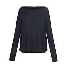 Buy Weekend by MaxMara Knitted Jumper, Navy Online at johnlewis.com