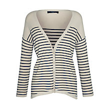 Buy Weekend by MaxMara Ariella Knit Cardigan, Navy Online at johnlewis.com