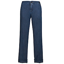 Buy Weekend by MaxMara Mid Blue Chino Jeans, Navy Online at johnlewis.com