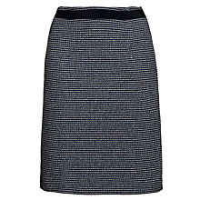 Buy Weekend by MaxMara Knee Length Skirt, Navy Online at johnlewis.com