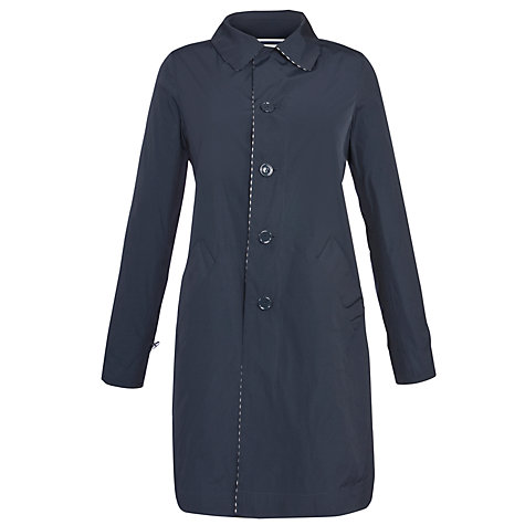 Buy Weekend by MaxMara Reversible Stripe Coat, Navy Online at johnlewis.com