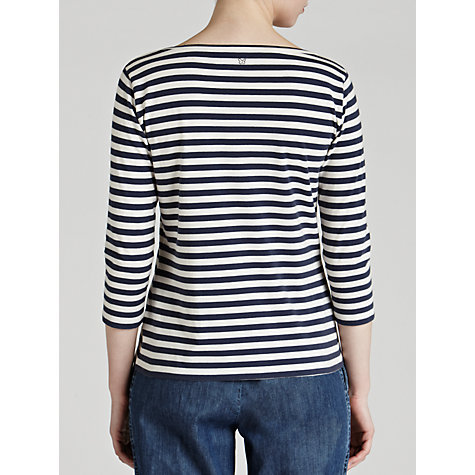 Buy Weekend by MaxMara Stripe T-Shirt, Navy Online at johnlewis.com