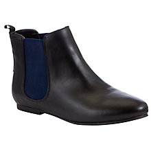 Buy John Lewis Girl Millie Chelsea Boot, Black Online at johnlewis.com