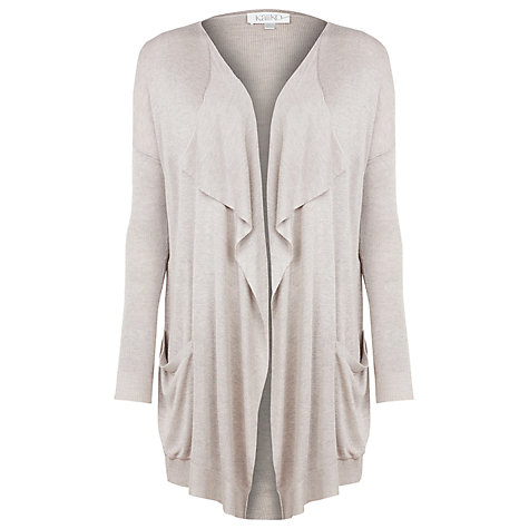 Buy Kaliko Waterfall Cardigan, Neutral Online at johnlewis.com
