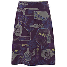 Buy White Stuff Pretty Spots Reversible Skirt, Deep Purple Haze Online at johnlewis.com