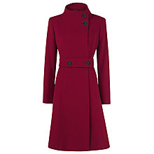 Buy Kaliko Full Skirt Coat, Red Online at johnlewis.com