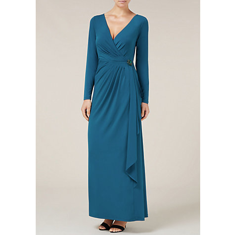 Buy Alexon Jersey Maxi Dress, Green Online at johnlewis.com
