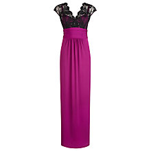 Buy Alexon Lace Top Maxi Dress Online at johnlewis.com