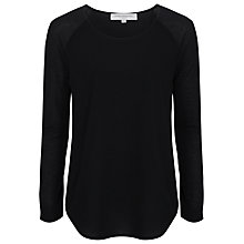 Buy French Connection Classic Polly Long Sleeve T-Shirt Online at johnlewis.com