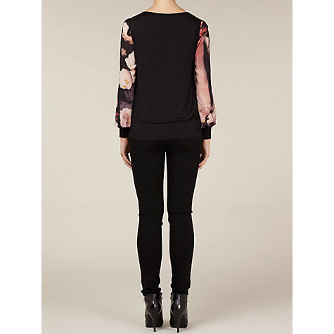 Buy Kaliko Ella Chiffon Top, Multi Online at johnlewis.com