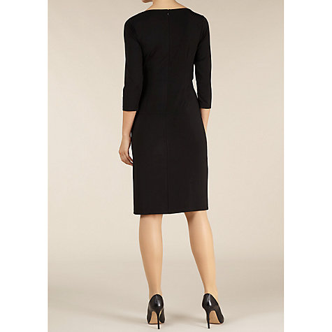 Buy Alexon Embellished Jersey Dress, Black Online at johnlewis.com