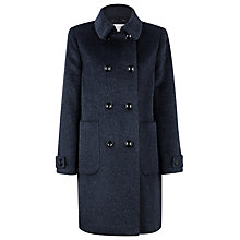 Buy Kaliko Mohair Coat, Blue Online at johnlewis.com