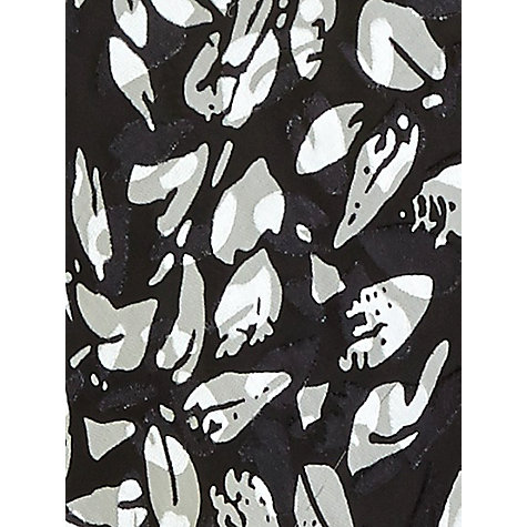 Buy Jacques Vert Monochrome Devore Dress, Black Online at johnlewis.com