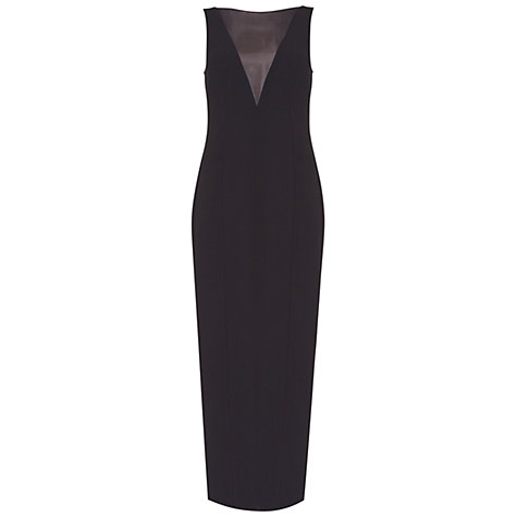 Buy Damsel in a dress Lalique Dress, Black Online at johnlewis.com