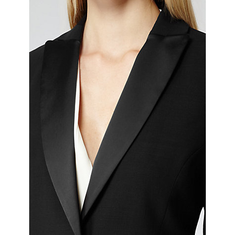 Buy Reiss Angelina Tuxedo Jacket, Black Online at johnlewis.com