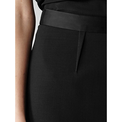 Buy Reiss Ajani Tuxedo Skirt, Black Online at johnlewis.com