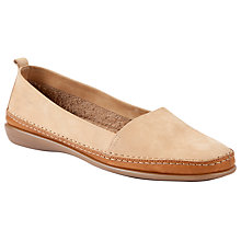 Buy John Lewis Designed for Comfort Wren Loafers, Taupe Online at johnlewis.com