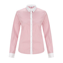 Buy COLLECTION by John Lewis Esther Striped Shirt, Watermelon Online at johnlewis.com